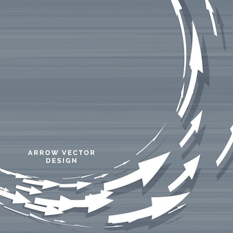 Circular arrow design