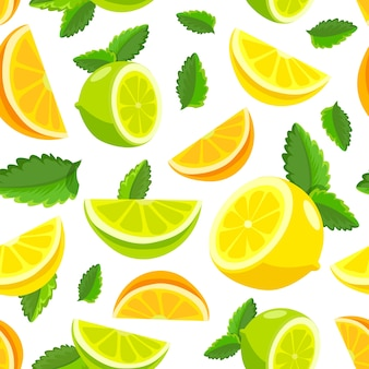 Citric pattern background