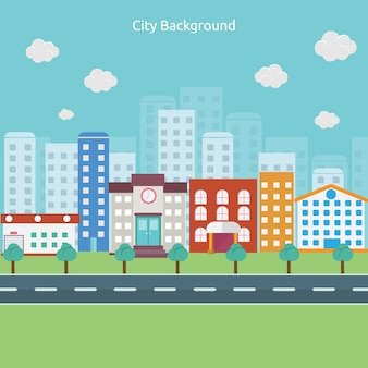 City background design