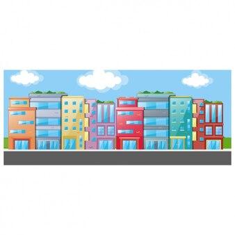City background design