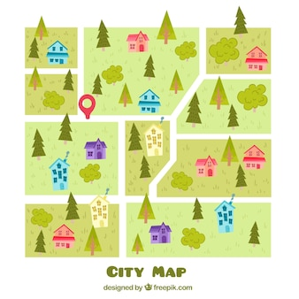 City map design background