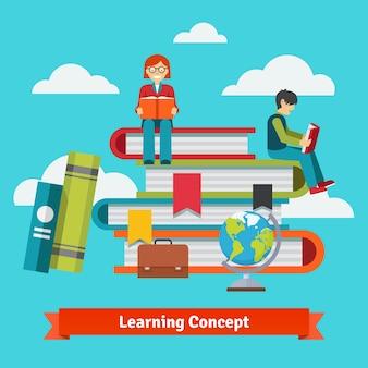 古典的な学習、教育、学校のコンセプト