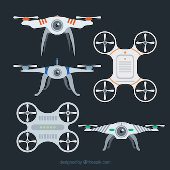Classic pack of drones