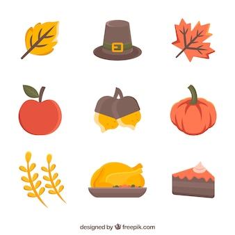 古典的な感謝祭の要素