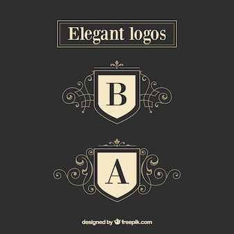 Classy logo templates