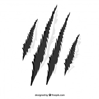 Claw rip wild icon vector