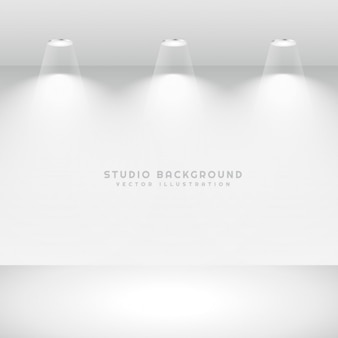 clean studio background