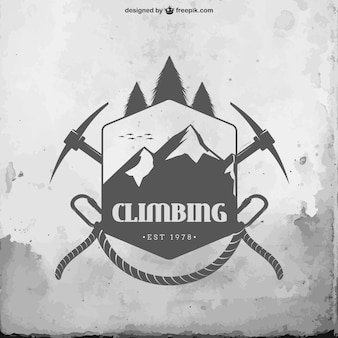 Climbing badge
