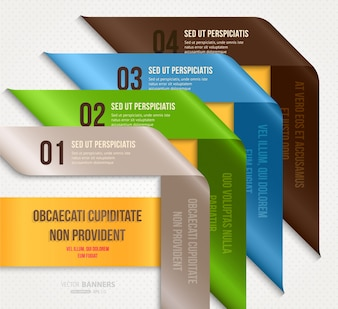 Clip wallpaper banner presentation template
