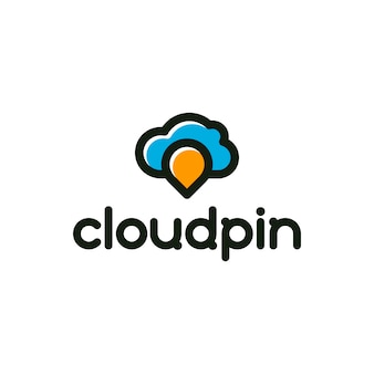 Cloud Pin Logo