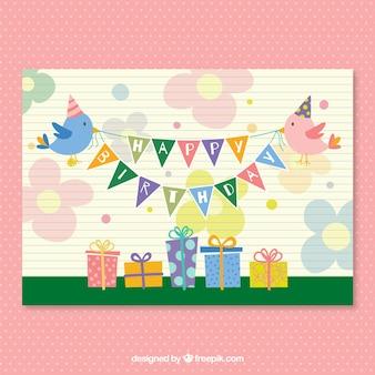 CMYK Birthday party card