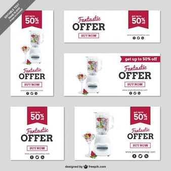 CMYK Discount banners