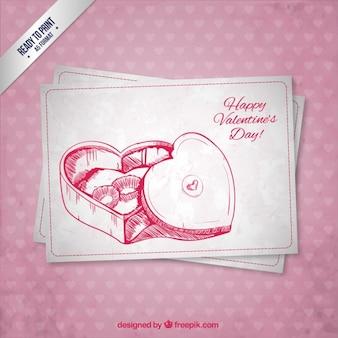 CMYK Valentine card