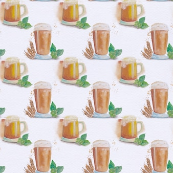 Coffe pattern background