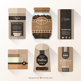 Coffee packaging collection