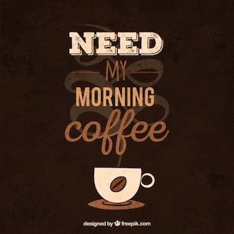 Coffee phrase