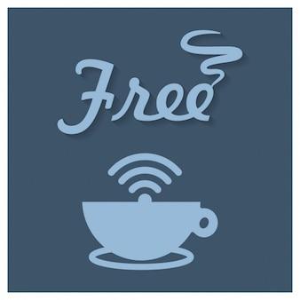 Coffee Shop Free Wifi Sign