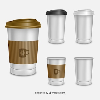 Coffees for take away