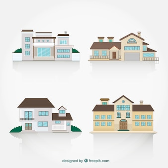 Collection of big houses