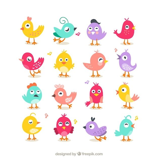 Abstract Birds Vector Art to many birds are flying Wallpapers HD ...