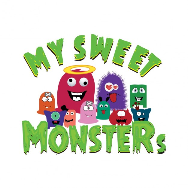 Collection of fun little monsters