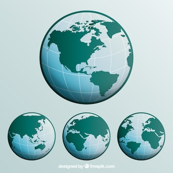 Collection of globe