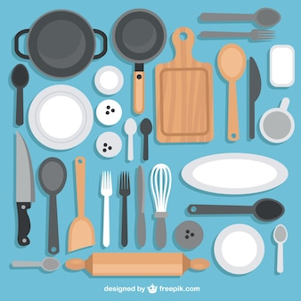 台所用品のコレクション
