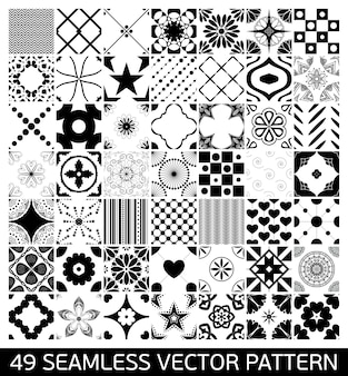 Collection of mandalas patterns