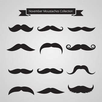 Movemberの口ひげのコレクション