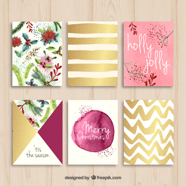 Collection of nice christmas cards