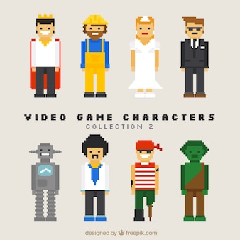Collection of nice video game characters