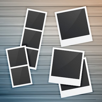 Collection of photo frames