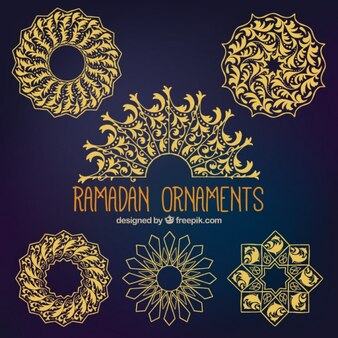 Collection of ramadan ornament