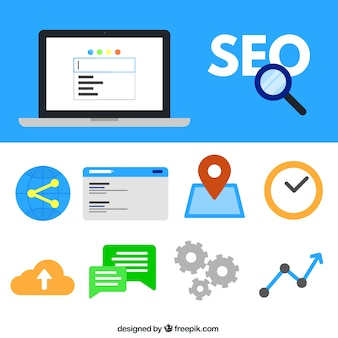 Collection of SEO elements