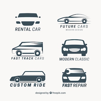 Collection of vehicle logos