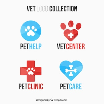 Collection of vet logos