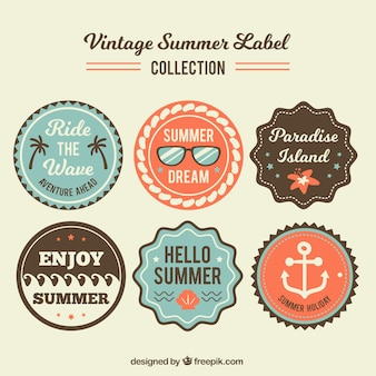 Collection of vintage sticker