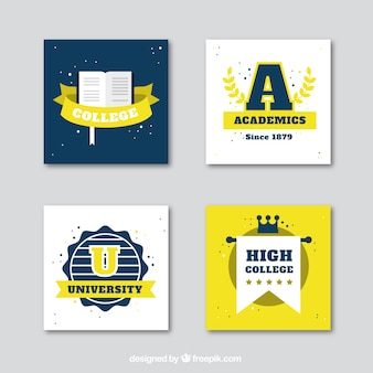 College logos collection