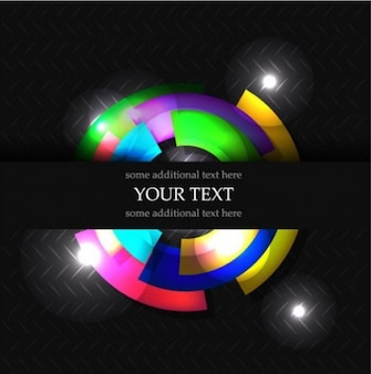 color ring abstract illustrator vector