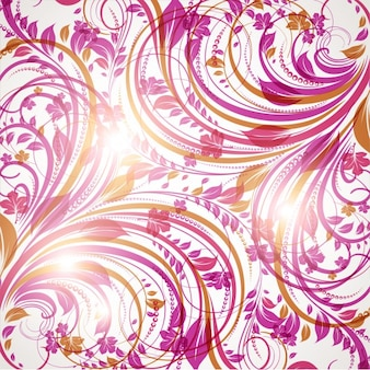 Color wave repetitive random seamless