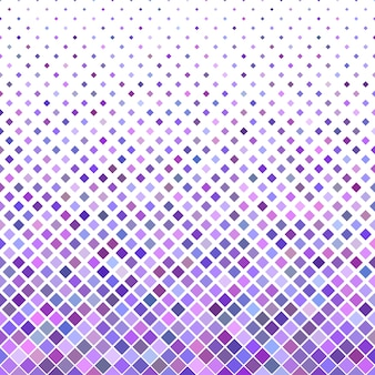 Colored abstract diagonal square pattern background - vector design from purple squares