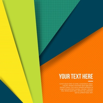 Colored geometric background