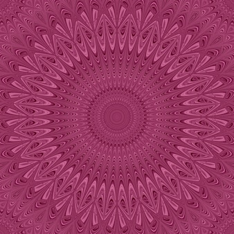 Colored mandala star ornament background - round vector pattern graphic