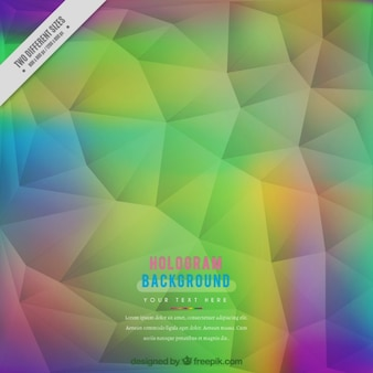 Colored polygonal background in low poly style