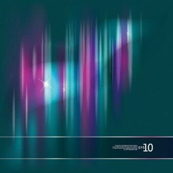 colorful abstract aurora background vector