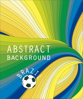 Colorful abstract background of Brazil