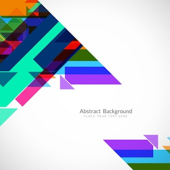 Colorful abstract background with polygonal shapes