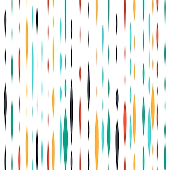 Colorful abstract hand drawn lines background
