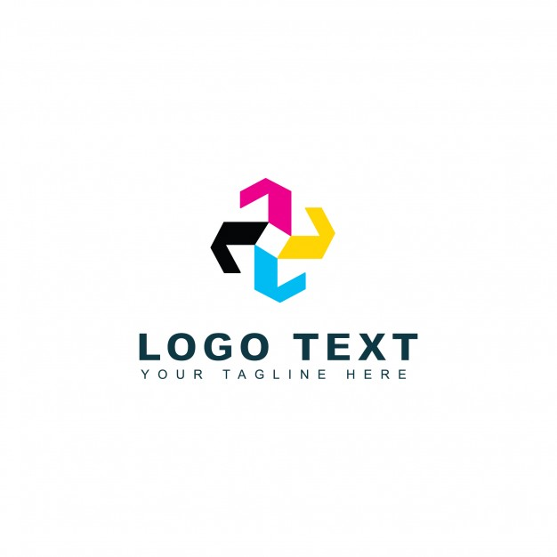 Colorful abstract logo
