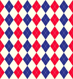 Colorful Argyle Pattern